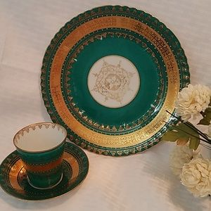 Vintage Cup, Saucer and Plate  Victoria (Austria)